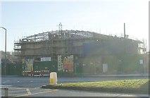 SE2534 : Fire Safety Centre - Stanningley Road - Work in progress. by Betty Longbottom