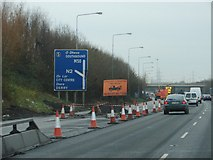 O1341 : Approaching Junction 5 on the M50 by Ian Paterson