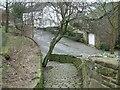 SJ9995 : Church Brow Footpath by Gerald England