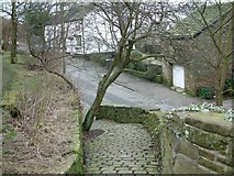 SJ9995 : Church Brow Footpath by Gerald England