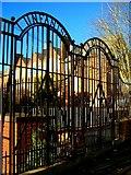 SX9392 : School Gates by Jan Baker