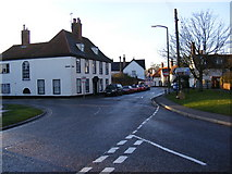 TM2863 : Castle and Fore Streets, Framlingham by Adrian Cable