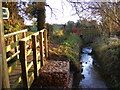 TM3569 : Footpath to Bruisyard Road and the River Yox by Adrian Cable