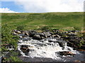 SX5482 : Waterfall on the river Tavy by M Hunter