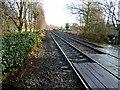 NY9265 : Carlisle to Newcastle railway by Oliver Dixon