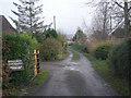 SO5185 : Bridleway at Delbury Hall by Row17