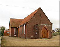 TG2834 : The Methodist Church in Trunch by Evelyn Simak
