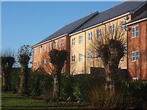 TM0855 : Flats in Needham Market by Andrew Hill