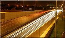 J3373 : The Westlink, Belfast by Albert Bridge