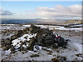 SD8671 : Pile of stones on Fountains Fell by Phil Catterall
