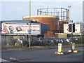 TQ4768 : St Mary Cray gasometers by Ian Capper