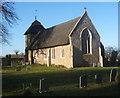 TM1072 : St Mary's church, Thornham Parva by Andrew Hill