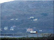 SH6214 : Approaching Barmouth Bridge by John Lucas