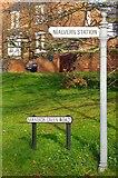 SO7845 : Finger Post, Barnards Green, Malvern by Bob Embleton