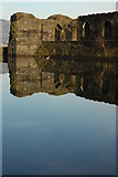 ST1587 : The North Gatehouse, Caerphilly Castle by Philip Halling