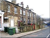 SE1437 : Back Baker Street - Saltaire Road by Betty Longbottom