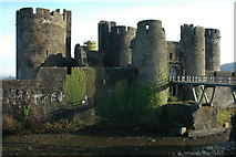 ST1587 : Caerphilly Castle by Philip Halling