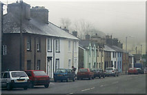 SH7400 : A row of houses in Machynlleth by Peter S