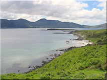 NR4762 : Distant view of Am Fraoch Eilean by Andrew Curtis