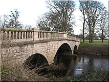 SE3953 : Ribston Park Bridge by Gordon Hatton
