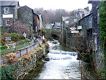 NY3704 : The Old Water Mill, Ambleside by Bill Henderson