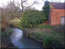 SO7334 : The Glynch Brook near the Pepper Mill by Bob Embleton