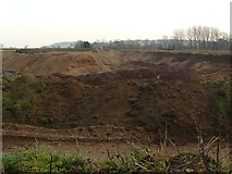 SK5031 : New workings at the Gravel pit by Andy Jamieson