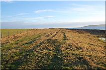 HY5803 : Coastal path to the Point of Ayre by Ian Balcombe