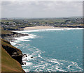 SW9379 : Polzeath from Pentire Point by Andy F