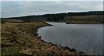 NY6491 : Bakethin Dam by Peter McDermott