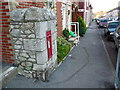 SY6871 : Portland: postbox № DT5 54, Grosvenor Road by Chris Downer