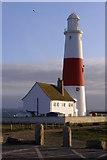 SY6768 : Portland Bill lighthouse by Jim Champion