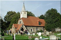TQ0682 : St Laurence, Cowley by John Salmon