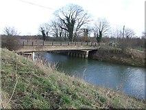 TL4279 : Small Bridge at Sutton Gault by Tony Bennett