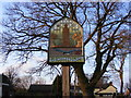 TM2570 : Brundish Village Sign by Adrian Cable