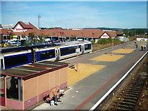 SP1955 : Train at Stratford-Upon-Avon Railway station by James Haynes