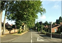 SK6443 : Looking up Padleys Lane from Main Street by johnfromnotts