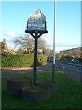 TQ7158 : Ditton Village Sign by David Anstiss