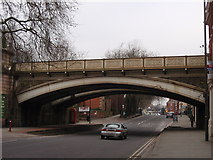 SK3436 : Friar gate bridge, Derby by James Haynes