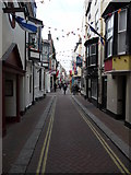 SY6878 : Weymouth - St Alban Street by Chris Talbot