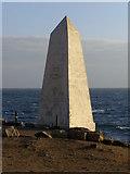 SY6768 : Trinity House obelisk, Portland Bill by Jim Champion