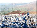 S8145 : Frosty Mountainside by kevin higgins