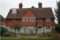 TQ4251 : 4 & 5 Tally Road, Limpsfield Chart by Hugh Craddock