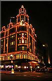 TQ2779 : Harrods, London SW1 by Christine Matthews