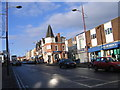 SP0489 : Soho Road Handsworth showing old Midland/HSBC Bank site by Roy Hughes