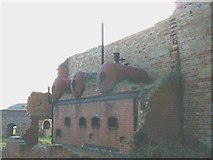 SH4094 : The Gas Plant at Porth Wen Brick Works by Eric Jones