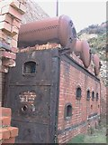 SH4094 : Another view of the gas plant at Porth Wen Brick Works by Eric Jones