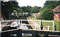 SO9946 : Fladbury lock - 1 by Trevor Rickard
