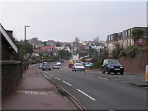 SX9062 : The road to Paignton through Livermead by Rob Purvis
