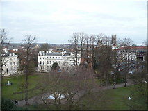 TR1457 : View from the top of the Dane John mound in Dane John Gardens by pam fray